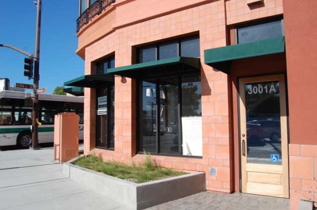 Neighborhood residents successfully fought a bid by Starbucks to open a cafe in a new building at Ashby and Telegraph avenues. (Tracey Taylor/Berkeleyside)