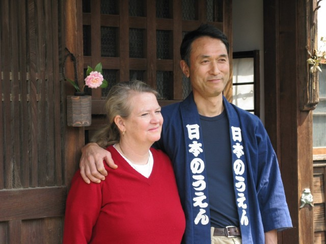 Nancy and Tadaaki Hacihisu are organic farmers in Saitama, Japan. (Photo by Dan Nakasone)