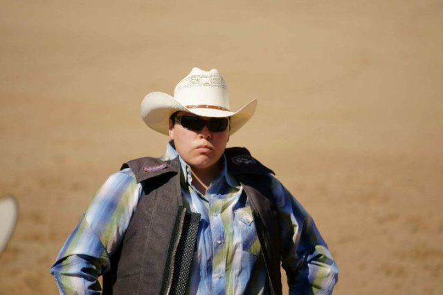 Deanna Trujillo-James is one of hundreds of competitors in gay rodeos across the country. Photo: courtesy of Deanna Trujillo-James