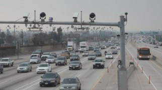 In Los Angeles, police monitor about 1,000 cameras in the city. (Center for Investigative Reporting)