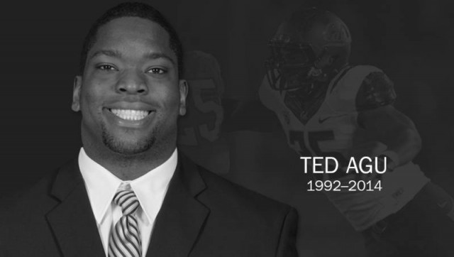 UC Berkeley football player Ted Agu, in image released by Cal. (GoldenBearSports.com)