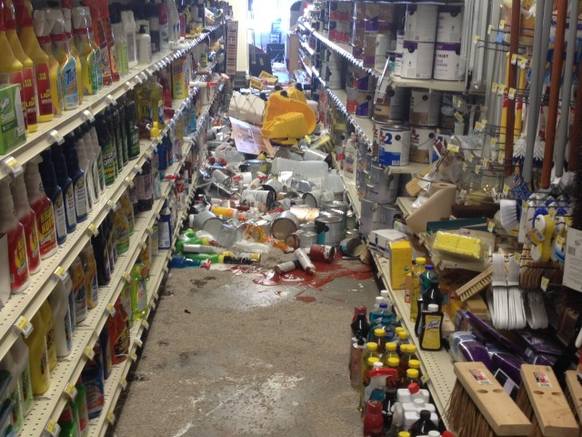 Ace Hardware in downtown Napa. (Craig Miller/KQED)