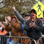 Despite Rain, Hundreds of Thousands Turn Out for Giants Victory Parade