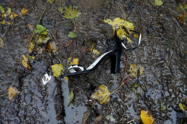 An item left behind by a Jungle resident. (James Tensuan/KQED)