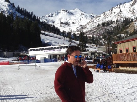 Squaw Valley CEO Andy Wirth says the resort is doing well despite the weather
