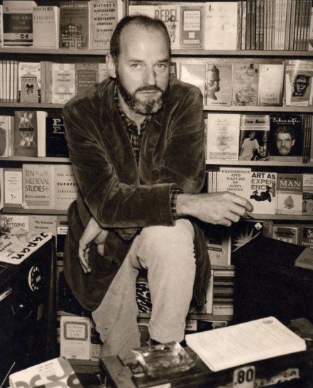 Lawrence Ferlinghetti, pictured in 1959, at the age of 40. (Courtesy of City Lights Bookstore)