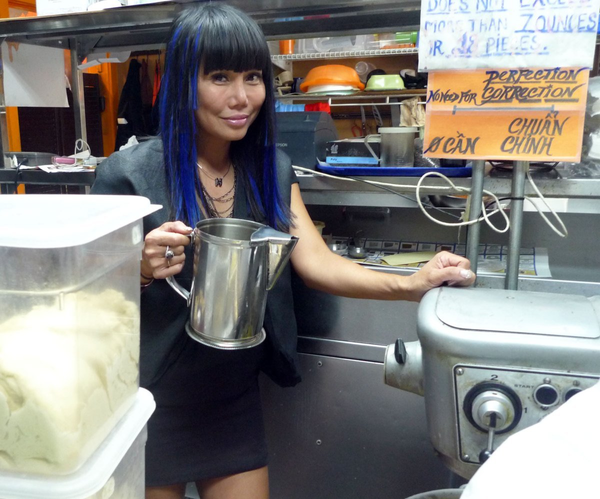 How the 'Vietnamese Madonna' Became a Sandwich Maven in Orange County
