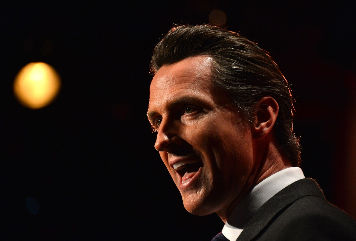 Gavin Newsom Talks His Three Big Issues For 2016