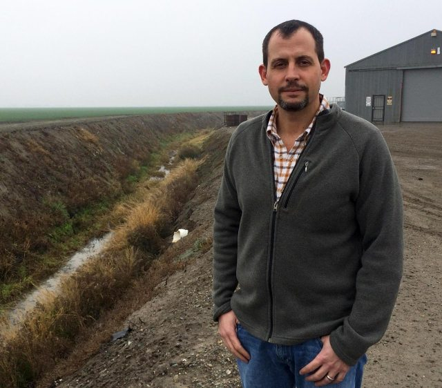 Cannon Michael farms over 11,000 acres in Merced County. He says he thinks a marijuana crop could be worth investing in if it becomes legal.