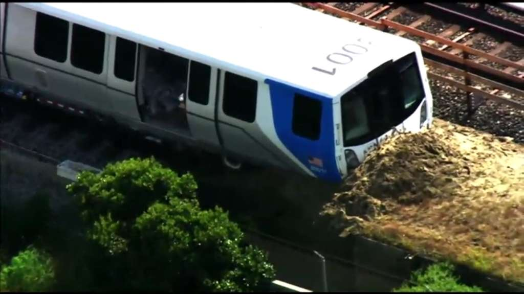 BART Explains Mishap Involving 'Fleet of the Future' Car