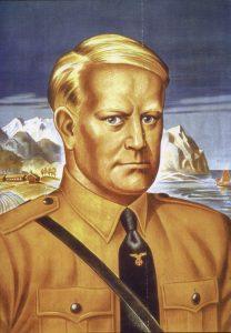 Quisling, Vidkun Abraham Lauritz Jonsonn - WW2 Gravestone