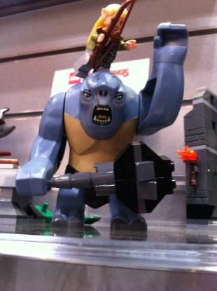 The LEGO Cave Troll - The Mines of Moria LEGO Set