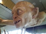 Gollum at Wellington airport closeup 2