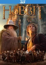 "Fan made box art for ""The Hobbit: An Unexpected Journey"" Blu-ray cover."