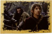 Thorin and Bilbo in Mirkwood.