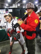 Team Fortress 2 costumes from SLCC