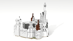 New Minas Tirith left side