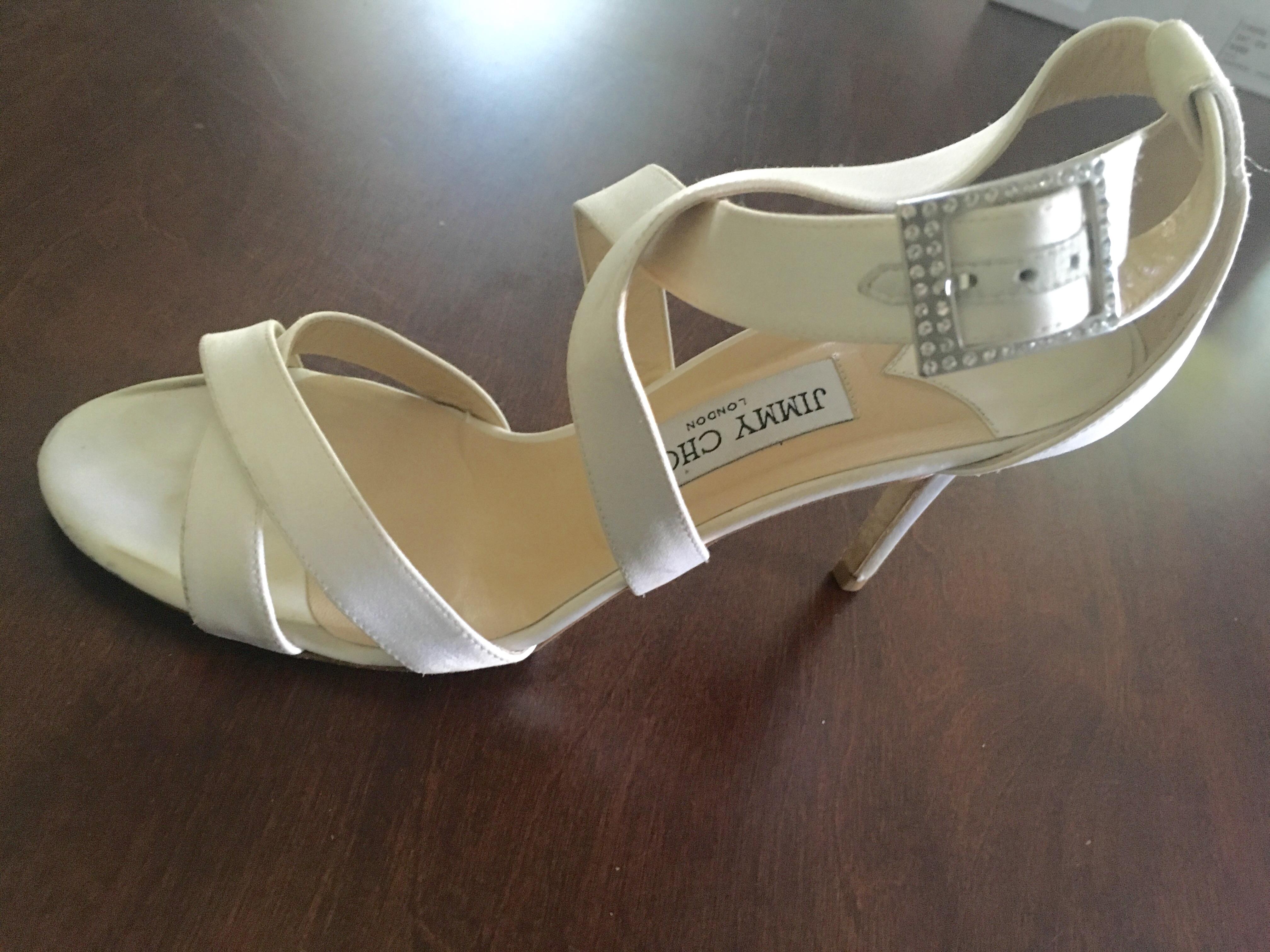 jimmy choo ivory satin wedding shoes jimmy choo wedding shoes