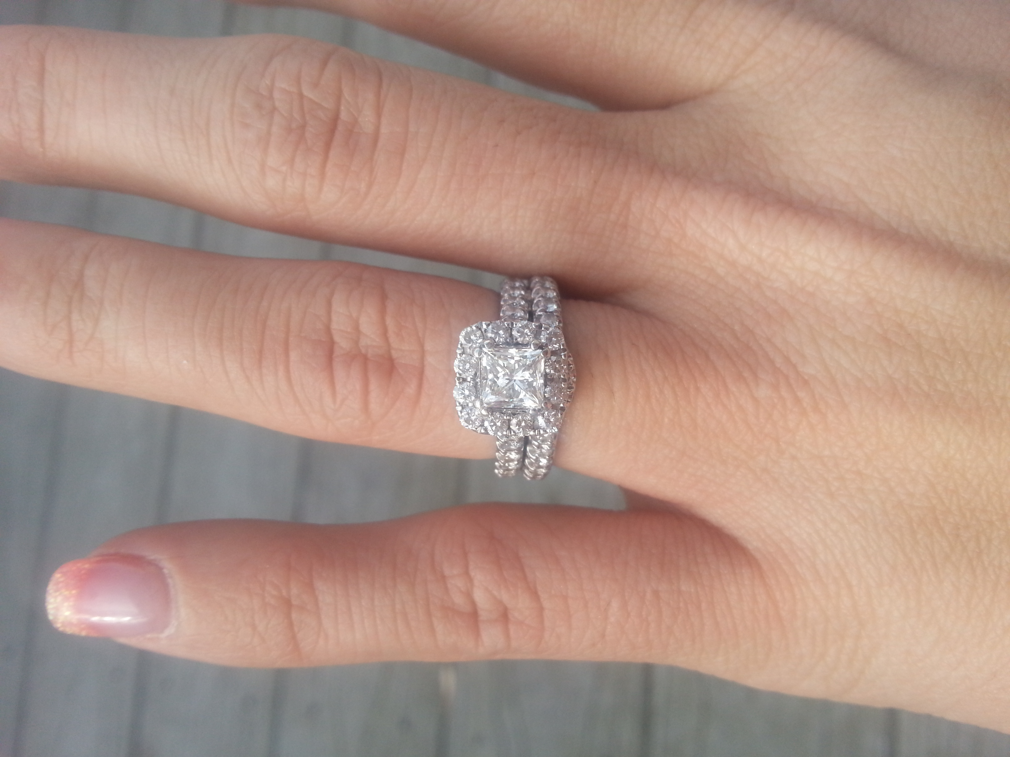 neil lane engagement rings 2 neil lane wedding rings One of my wedding sets is Neil Lane bridal at Kays Honestly you can find a set with better quality diamonds for a lower price if you buy online