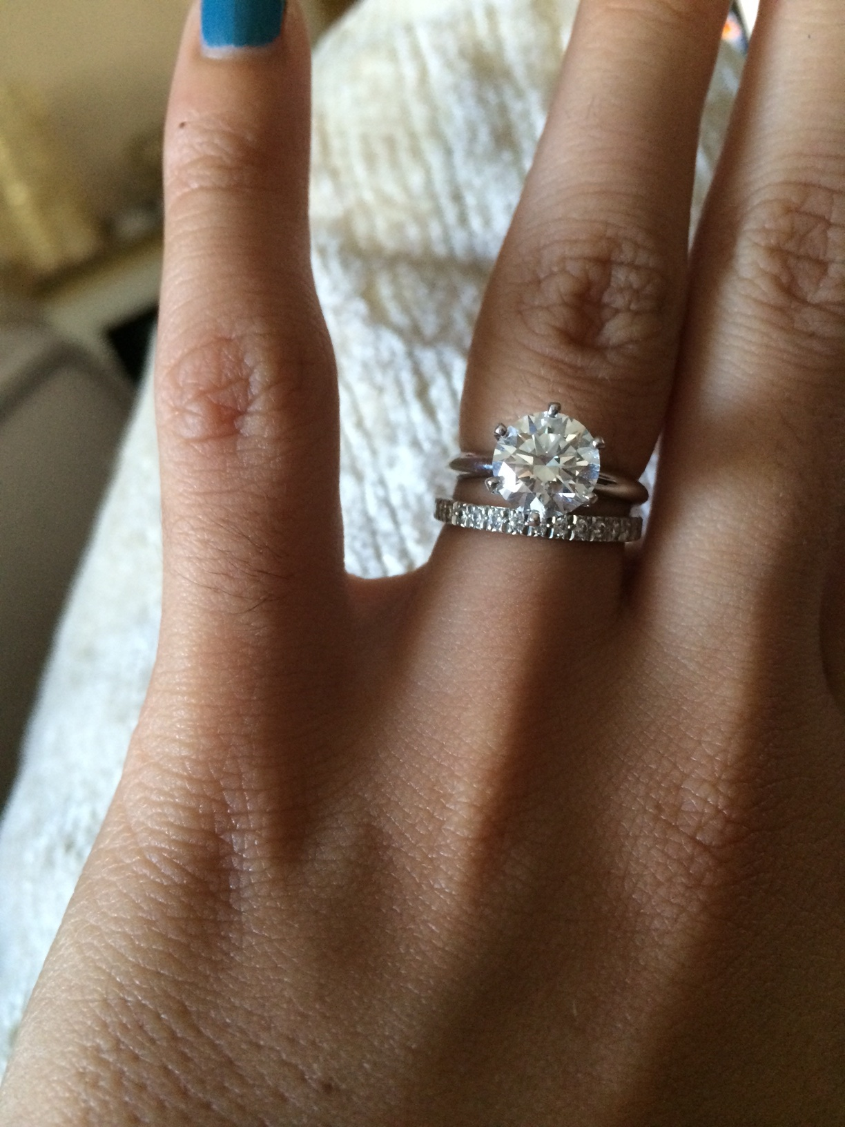 tiffany engagement rings with wedding bands jewellery en wedding rings tiffany