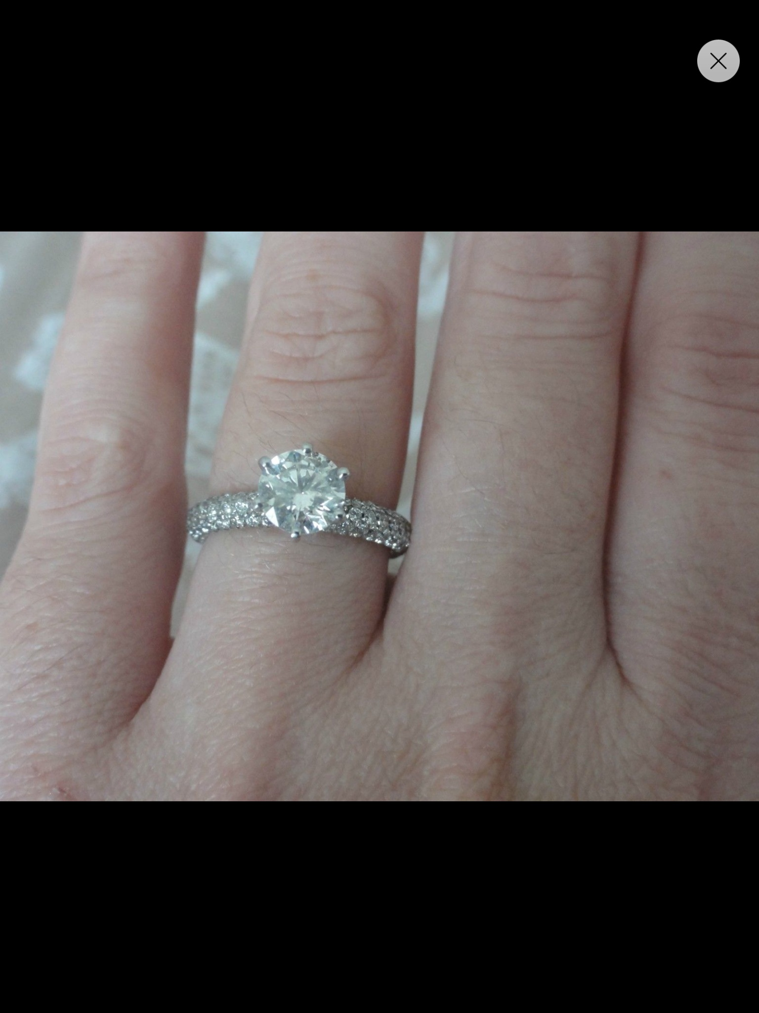 dont know what style wedding band to go with my micro pave ering help please micro pave wedding band Tagged Micro pave ering wedding bands