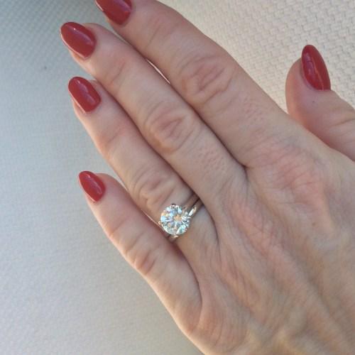 Medium Of J Color Diamond