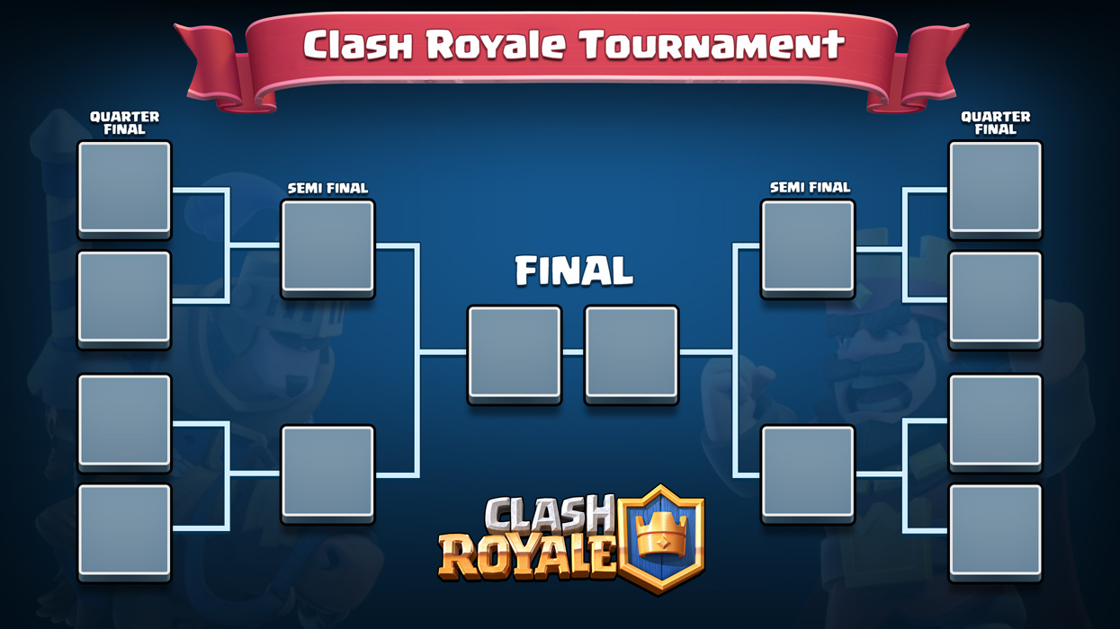 Organisation du 1er tournoi du clan Clash-royale-tournoi