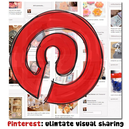Sample of Pinterest stream for Jen Goode and JGoode Designs