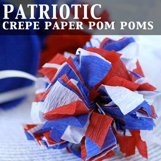 Paper pom pom decor