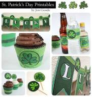 St. Patrick's Day Printables by Jen Goode