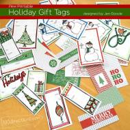 Christmas Gift Tags - free printables