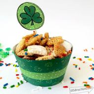 Free Lucky Cupcake Wrapper Printables for St. Patrick's Day