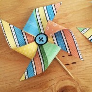 Summer Fun Mini Pinwheel Printable Kit