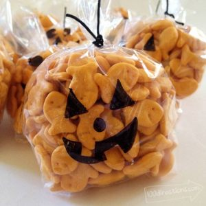 Happy Pumpkin Halloween Treat