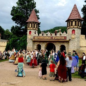 Closing goodbye at the Colorado Renaissance Festival