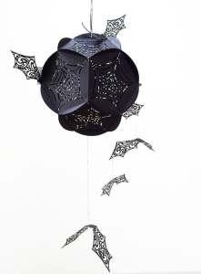 Hanging Bats centerpiece Halloween Decor