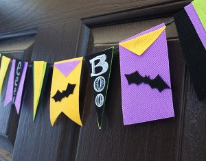 Cut shapes and draw on Olyfun banners