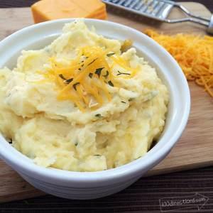 Cheesy Garlic Mashed Potatoes - So Good
