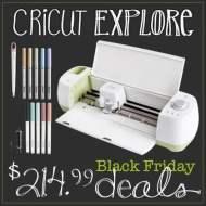 Cricut and Cricut Explore Black Friday Deals