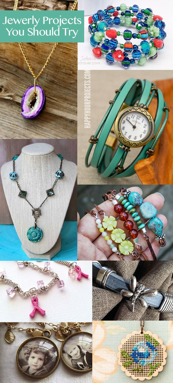 Jewelry craft projects you should try 100 directions for What craft should i do