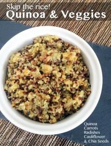 Veggies and Quinoa