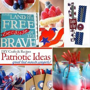 last Minute Patriotic Project ideas