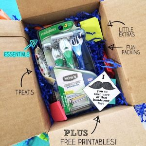 Schick-Disposable-Razors-college-care-packages