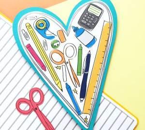 DIY Teacher Card designed by Jen Goode
