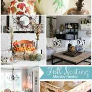 Beautiful Fall Decor Ideas - Monday FUNday Party -