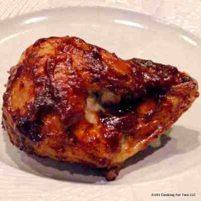 Baked BBQ Split Chicken Breast | 101 Cooking For Two