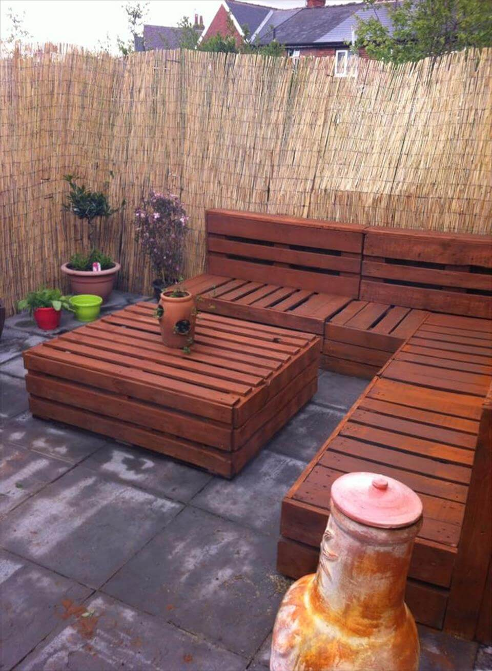 whole pallet patio set inspiration garden furniture from pallets