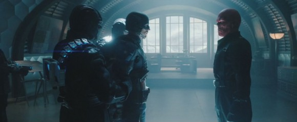 Captain America and Red Skull from the 2011 Captain America Movie