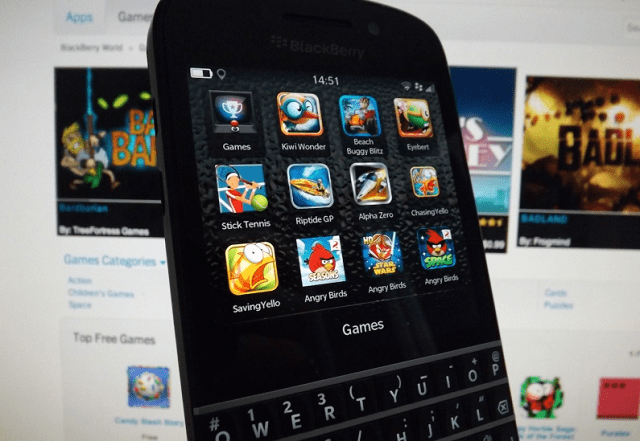 free slot apps for blackberry