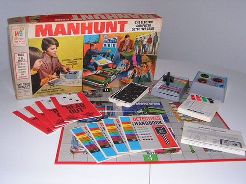 Manhunt Boardgame